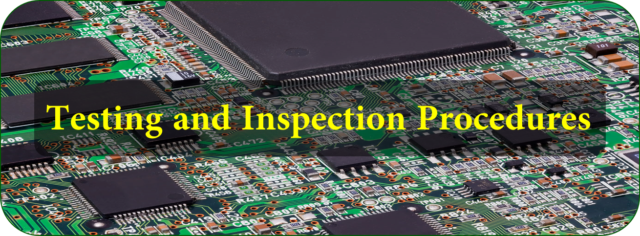 Testing and Inspection Procedures | JHYPCB