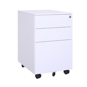 Steel Storage Cabinets 3 Drawer With Wheels