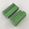 8pin contacts 3.81mm pitch plug-in terminal block