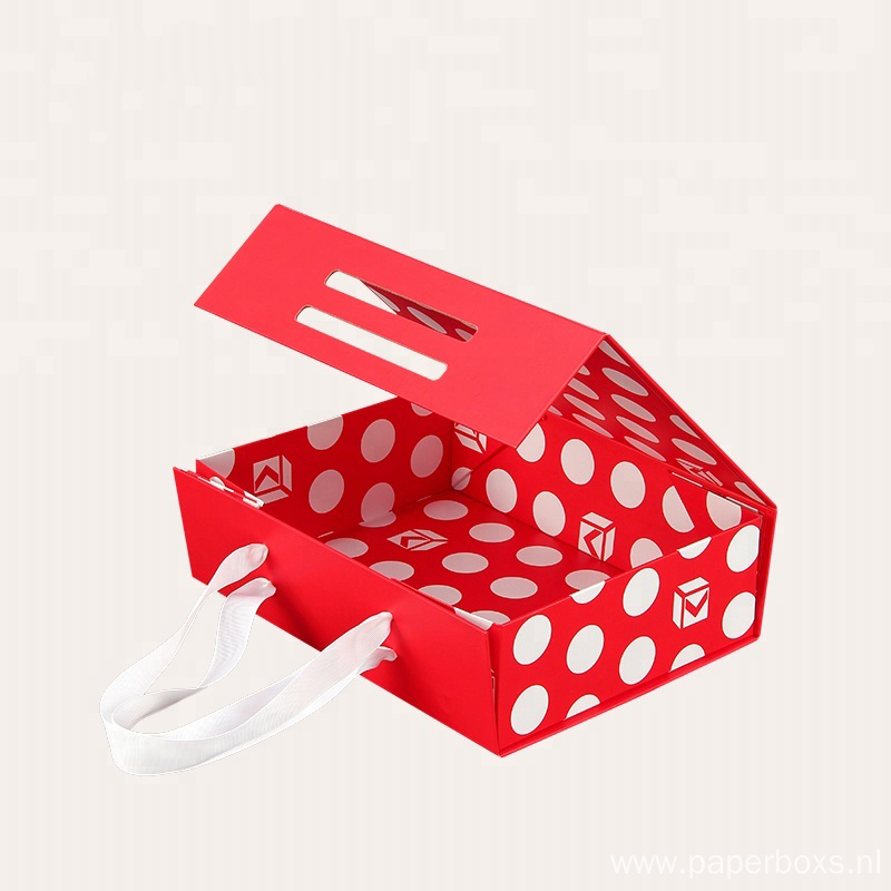 Custom Printed Kraft Folding Flat Packaging Paper Box