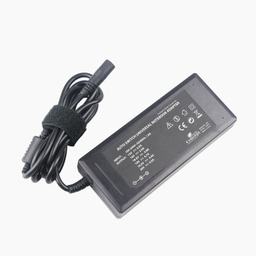 90w universal laptop charger with 8 dc tips