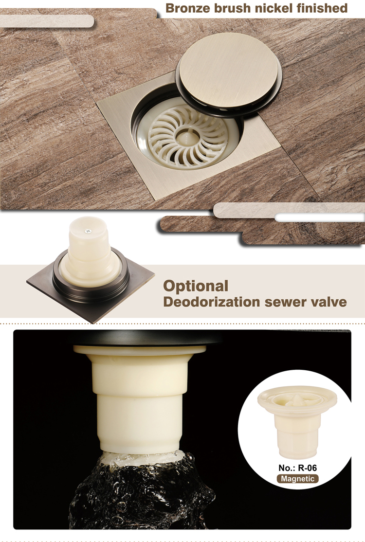 Anti Odor Floor Drain