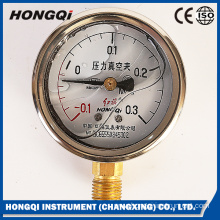 Vacuum Pressure Gauge for Bourdon Tube