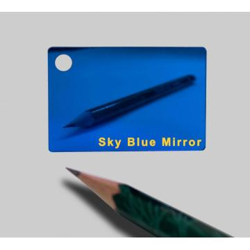 Sky Blue Acrylic Plexiglass sheet 1.5mm Thick 1220*1830mm
