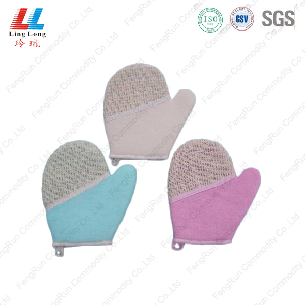 Household bathing gloves sponge pad