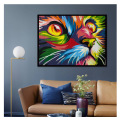 GATYZTORY color Dog series Diy painting number Animal oil paint by numbers canvas painting by numbers for kids adults art paint