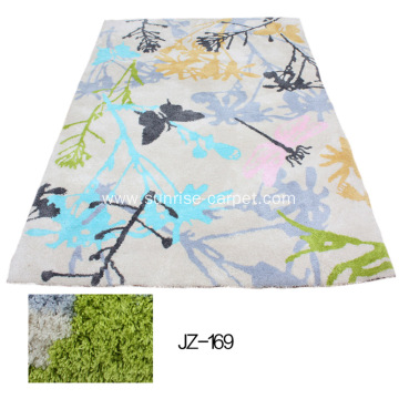 Thin Microfiber Rug /Carpet with Beauty Design