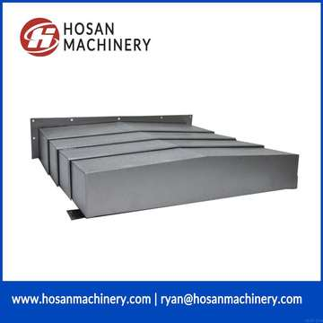 Steel fabricated item folding machine shield cover