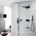 Four Function Brass Wall Mounted Shower Faucet Set