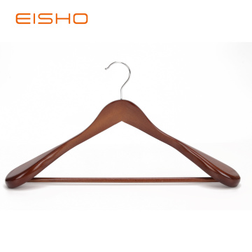 Luxury Wood Coat Hangers With Wide Shoulder EWH0093-93