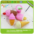 Novelty Food Erasers For Kids Gift