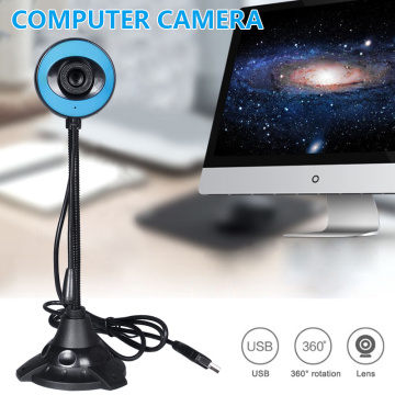 USB 2.0 Camera HD Computer Camera Webcam For Webcast Video Conference Web Cam With Built-in Microphone For PC Laptop Video Call