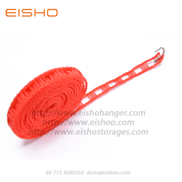 EISHO Non-slip Clothes Drying Rope Retractable Clothesline