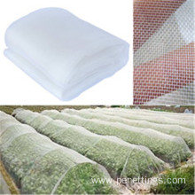 White HDPE Virgin Insect Net with UV Stabilized