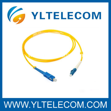 Customized SM Duplex Optical Fiber SC / LC Patch Cord 2.0mm LSZH