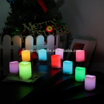 LED candles bulbs wax with 18 keys