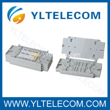 Upturned Fiber Optic Splicing Tray With Clear Cover