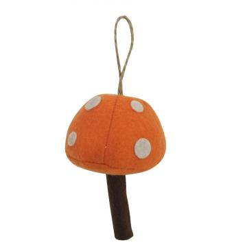 Christmas ornaments with  mushroom shape