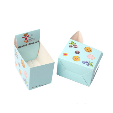 Small Art Paper Display Perforated Gift Box