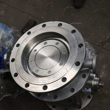 Single eccentric seal butterfly valve