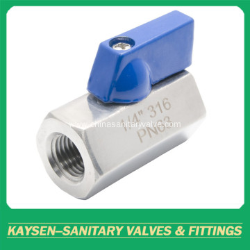 PN63 Mini ball valves female to female