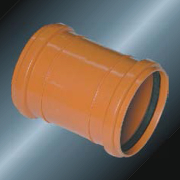 DIN Drainage Upvc Socket Rubber Spigot Grey Color