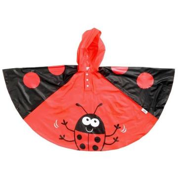 fashionable children rain poncho
