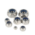 DIN980 Stainless Steel Lock Nuts nylon nut