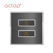 stainless steel Smart electrical hotel switches