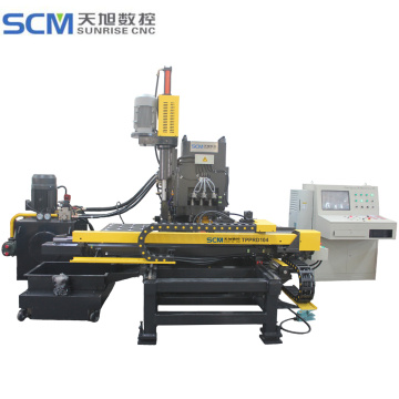 CNC Hydraulic Punching Drilling Marking Machine