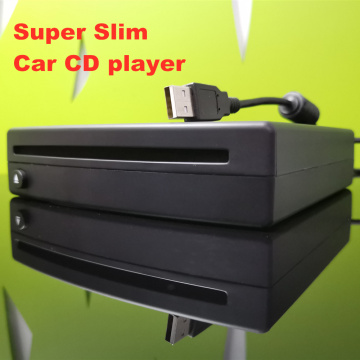 Super Slim USB External Car DVD CD MP3 HD Video Player compatible with PC TV MP5 Android headunit Universal USB power supply