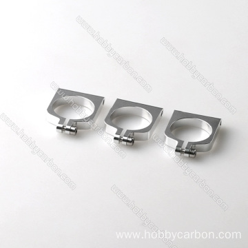 20mm carbon tubes aluminum clamp pipe clamp