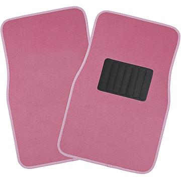 Floor Mat with Heel Pad 4- Piece Set