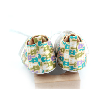 Wholesales Colorful Cotton Pattern Baby Casual Shoes