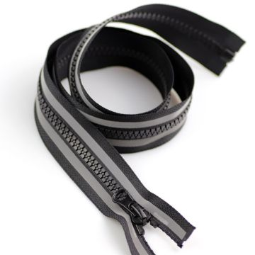 Discoun 14inch plastic zippers for merchandise