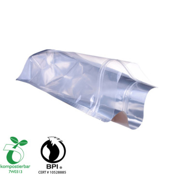 Clear PLA bag with window for food Packaging