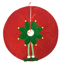 Christmas magic elf tree skirt
