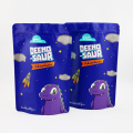 3.5g child packaging cookies ziplock stand up pouch