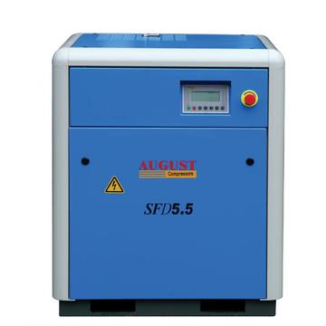 AUGUST 7.5kw 10hp direct driven screw compressor