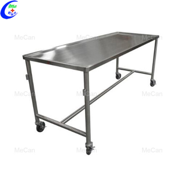 Hot sale stainless steel cleaning station autopsy table