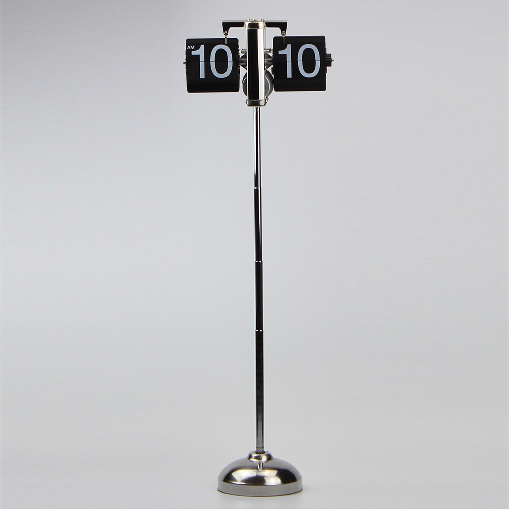 Height-adjustable Stainless Steel Flip Clock