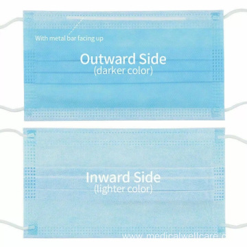 Surgical Disposable non-woven Anti Bacterial Masks