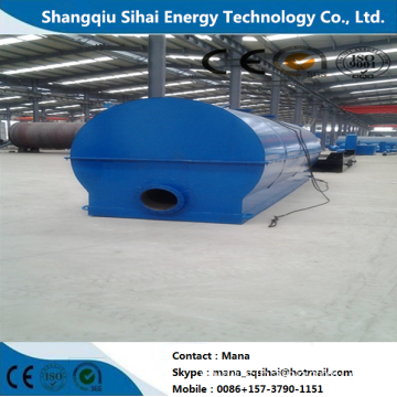 Plastic Oil Distillation to Diesel Facility