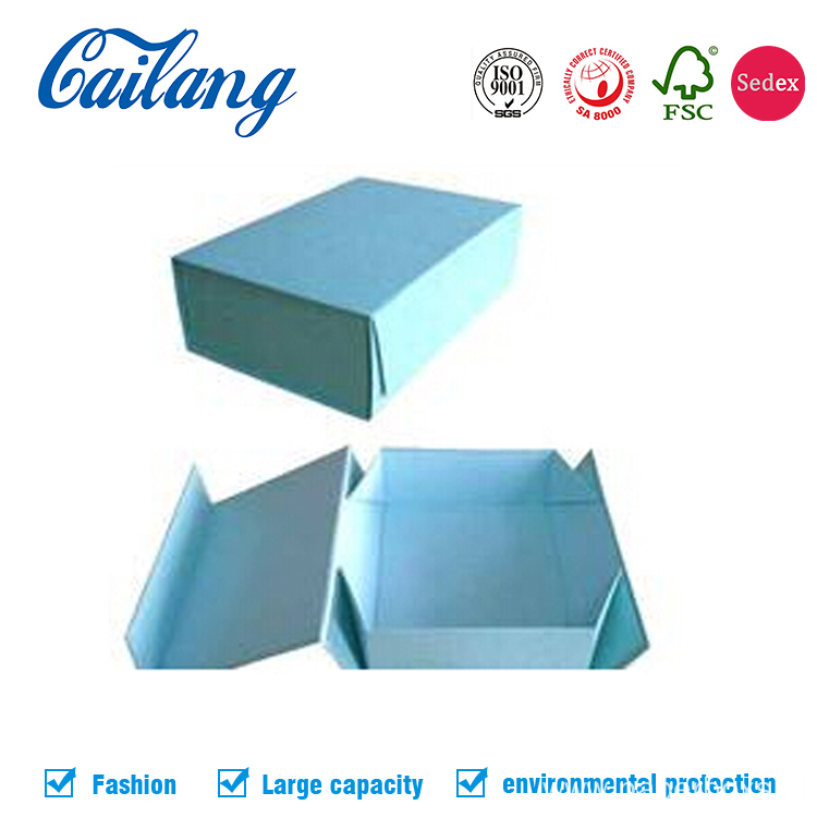 Custom Rigid Collapsible Apparel Paper Box with Magnetics