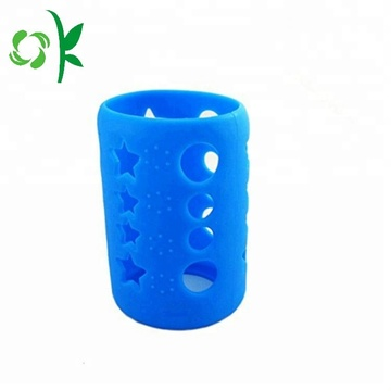 Silicone Water Bottle Sleeve with Cartoon