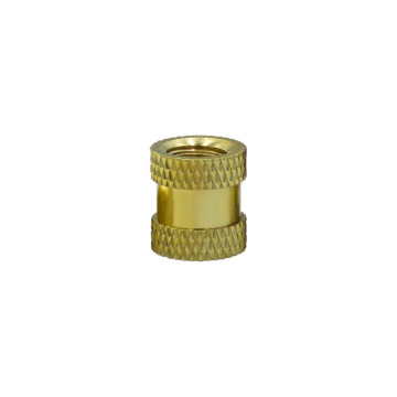 Customized OEM M2 brass knurled insert nut