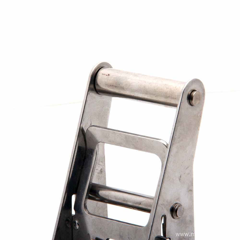 2 Inch Midium Handle SS304 Ratchet Buckle