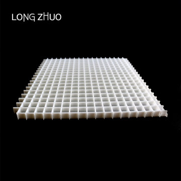 12.*12.7*12.7mm Return Egg Crate Sheet Eggcrate Grille in Plastic