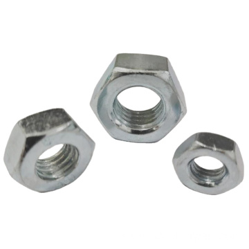 Din934 Metric Blind Hexagon Thin Nut For Sale