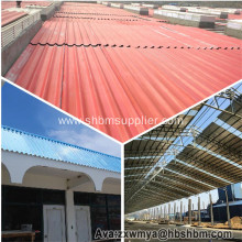 Harmless Heat-insulating Fireproof MgO Roofing Sheets